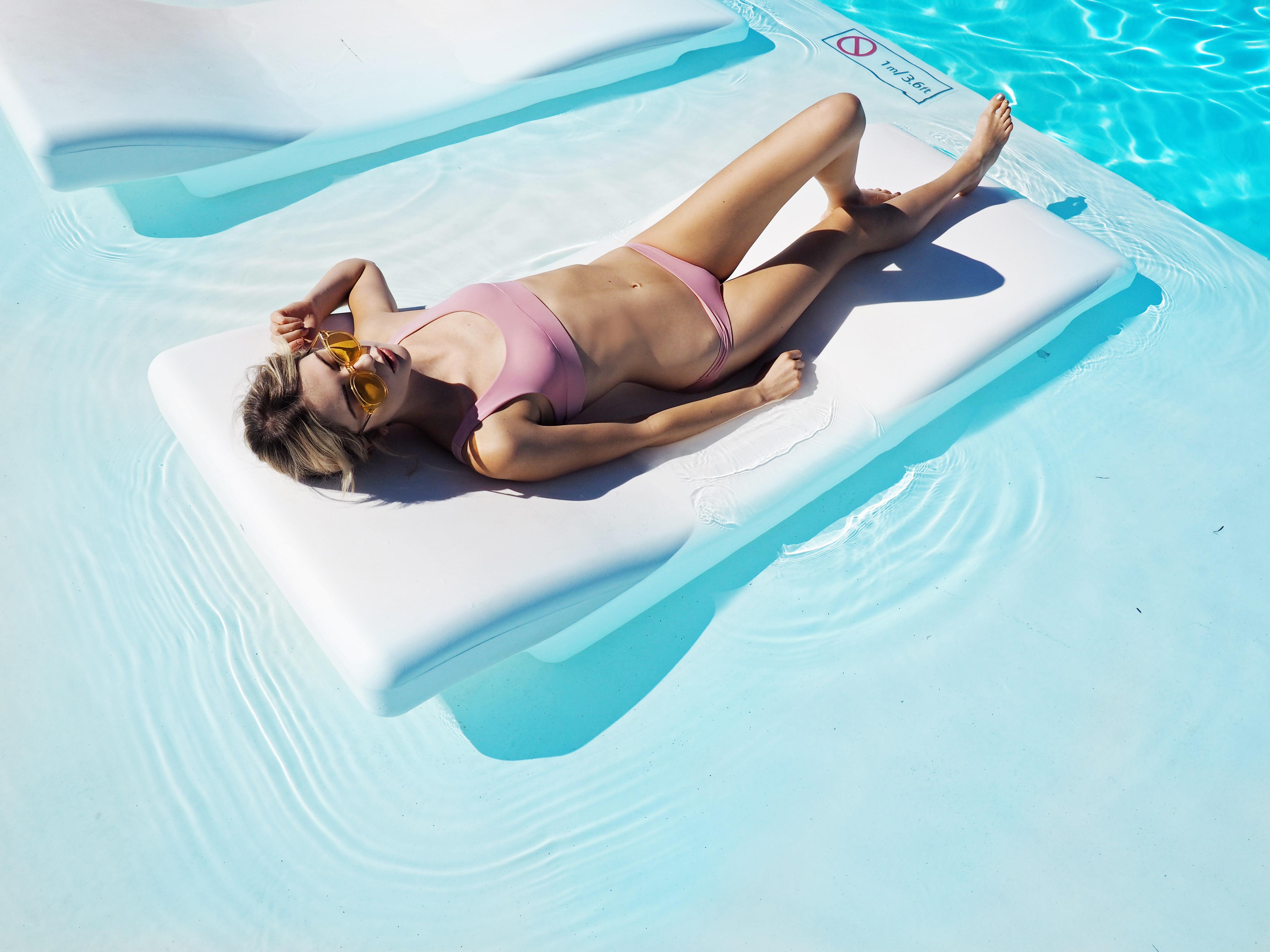 minimalist swimwear