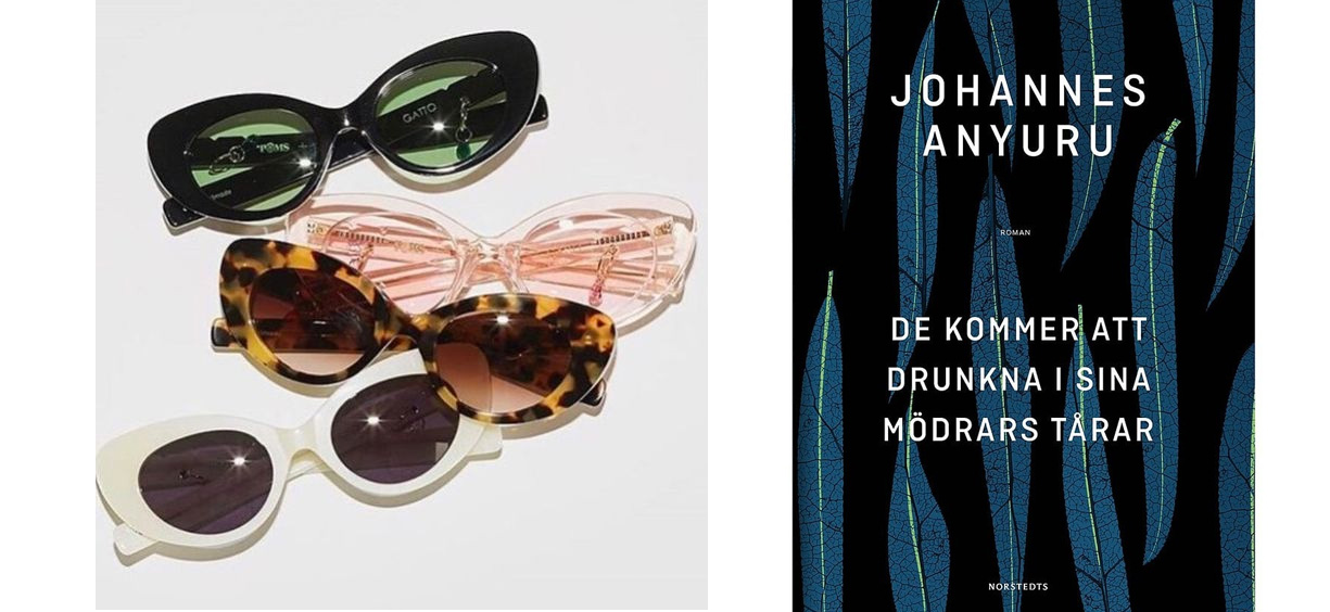 """Veckans inköp  Ett par snajdiga solbrillor och en bok att läsa på  stränder bussar i parker. Håller på med """"meningen med hela skiten"""" just nu  men efter det ... 2f490fc1db472"""