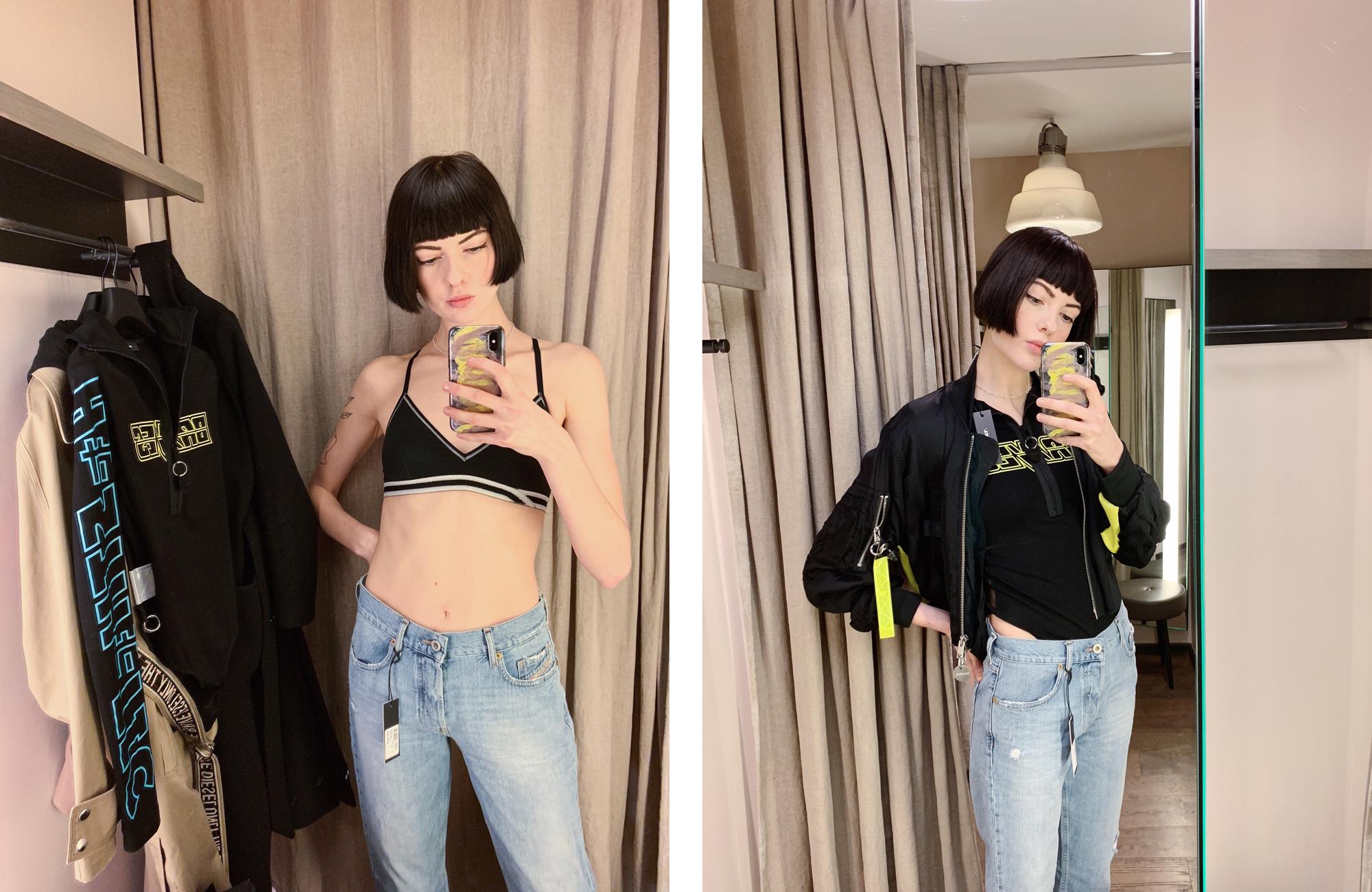 0a37065ed25 Var där och plockade kläder förra veckan, självklart hade det ett enda par  jeans i min udda storlek, haha, men vad gäller resterande plagg i outfiten  ...